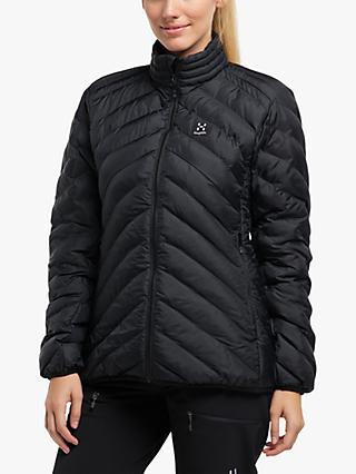 Haglöfs Särna Mimic Women's Waterproof Jacket, True Black
