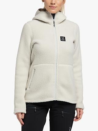 Haglöfs Pile Hood Women's Fleece Jacket, Haze