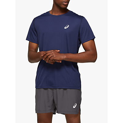 Product photo of Asics silver short sleeve running top