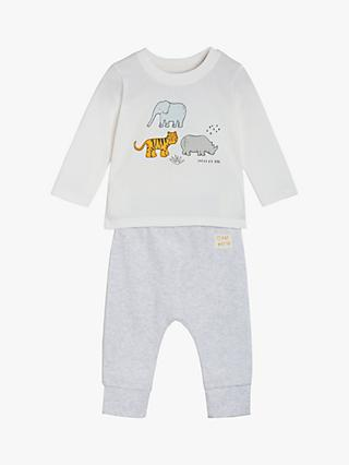 Mini Cuddles Baby Animal Top and Leggings Set, Multi