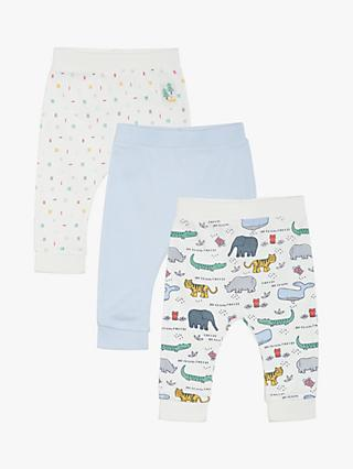 Mini Cuddles Animal Joggers, Pack of 3, Multi