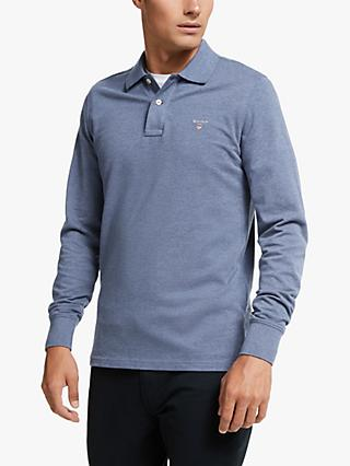 GANT Original Solid Colour Heavy Rugby Top