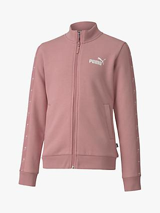 PUMA Girls' Amplified Full Zip Sweater