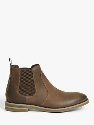 John Lewis & Partners Country Chelsea Boots, Tan