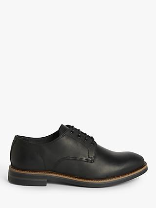 John Lewis & Partners Country Derby Shoes, Black
