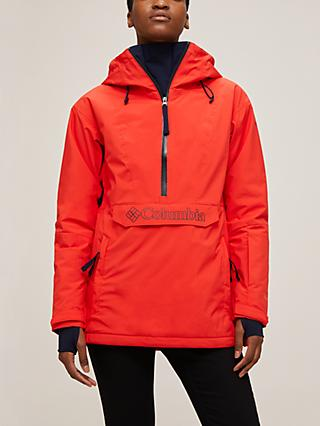 Columbia Dust on Crust Women's Waterproof Ski Jacket, Bold Orange