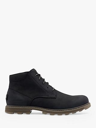SOREL Madson II Waterproof Chukka Boots, Black