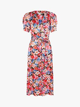 Monsoon Faith Floral Print Dress, Multi