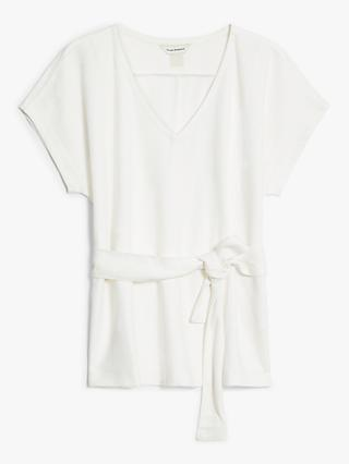 Club Monaco Wrap Top, Blanc de Blanc