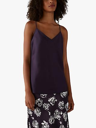 Club Monaco Kora Camisole Top, Purple