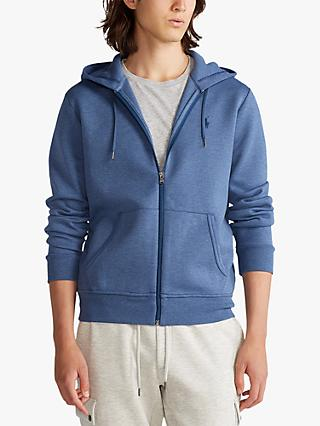 Polo Ralph Lauren Full Zip Hoodie, Derby Blue