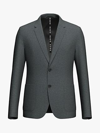 HUGO by Hugo Boss Areltu2041 Wool Blend Slim Fit Suit Jacket