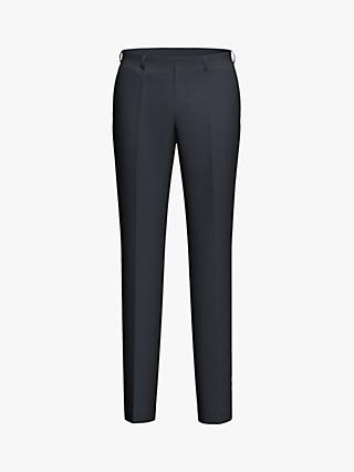 HUGO by Hugo Boss Simmons202 Virgin Wool Regular Fit Suit Trousers, Navy