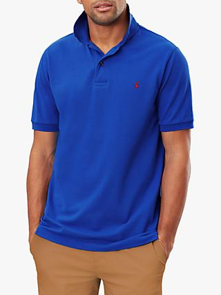 Joules Woody Slim Fit Polo Shirt, Blue
