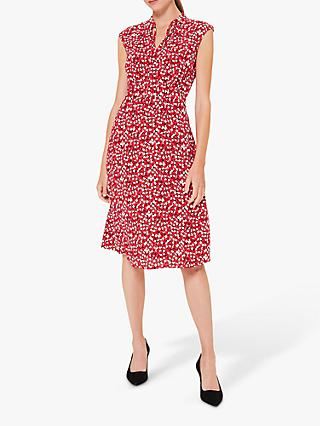Hobbs lsabelle Shirt Dress, Red