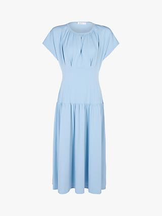 Finery Audrey Jersey Midi Dress, Blue