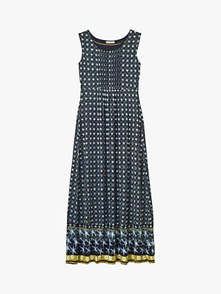White Stuff Harri Floral Print Maxi Dress, Navy