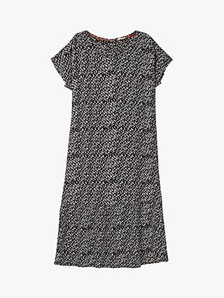 White Stuff Luella Crinkle Dress, Charcoal