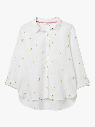 White Stuff Kirby Linen Blend Shirt, White