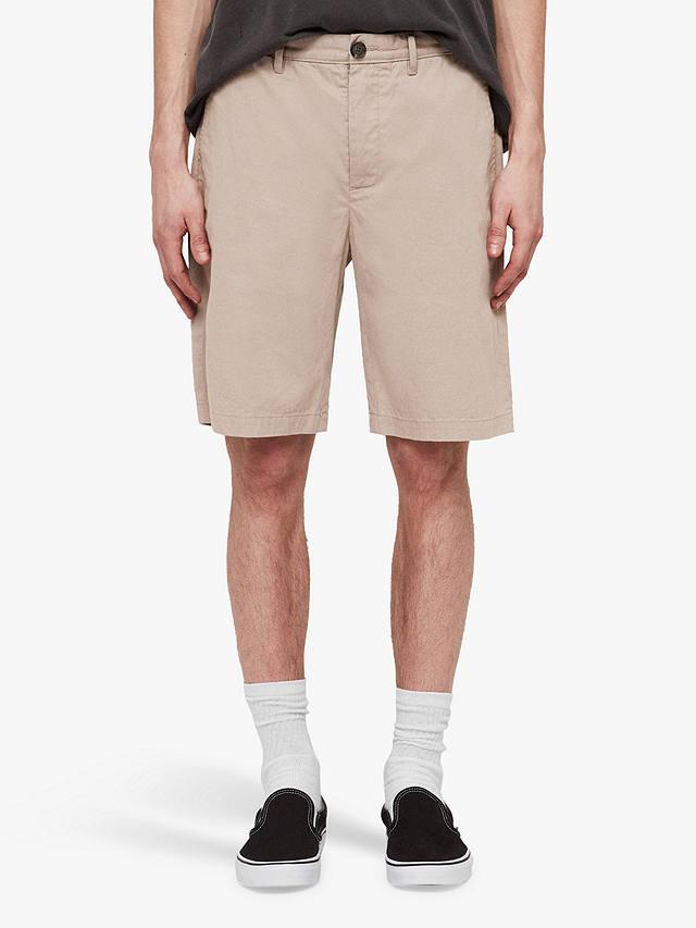 AllSaints Cobalt Chino Shorts, Light Sand