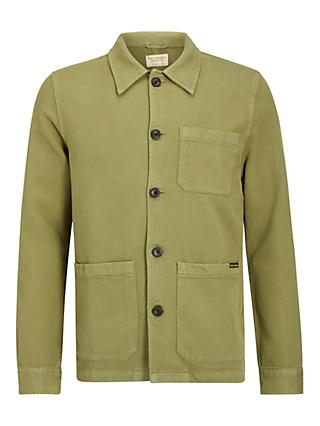 Nudie Jeans Barney Worker Jacket, G10 Green