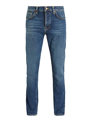Nudie Jeans Slim Steady Eddie II Jeans, Dark Classic