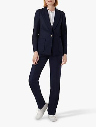 Hobbs Martina Tailored Jacket, Navy