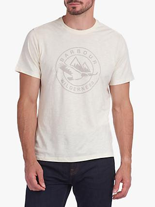Barbour Fogle Wilderness Graftham Logo T-Shirt