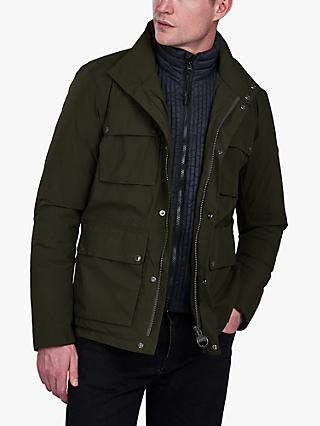 Barbour Lane Waterproof Jacket, Sage