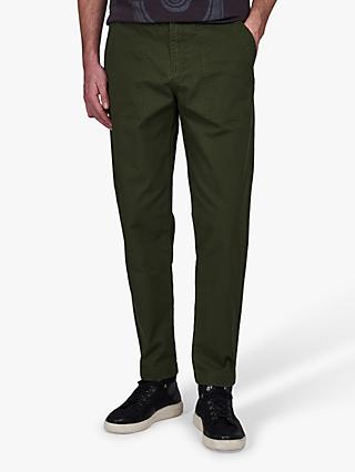 Barbour International Garment Dyed Trousers, Strong Olive