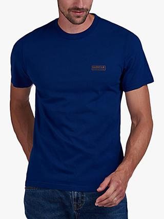 Barbour International Small Logo T-Shirt, Strong Blue