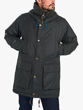 Barbour Waxed Cotton Parka Jacket