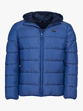 Barbour International Court Quilted Jacket, Inky Blue
