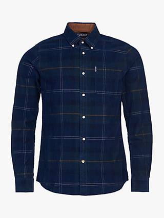 Barbour Blair Tartan Shirt, Seaweed