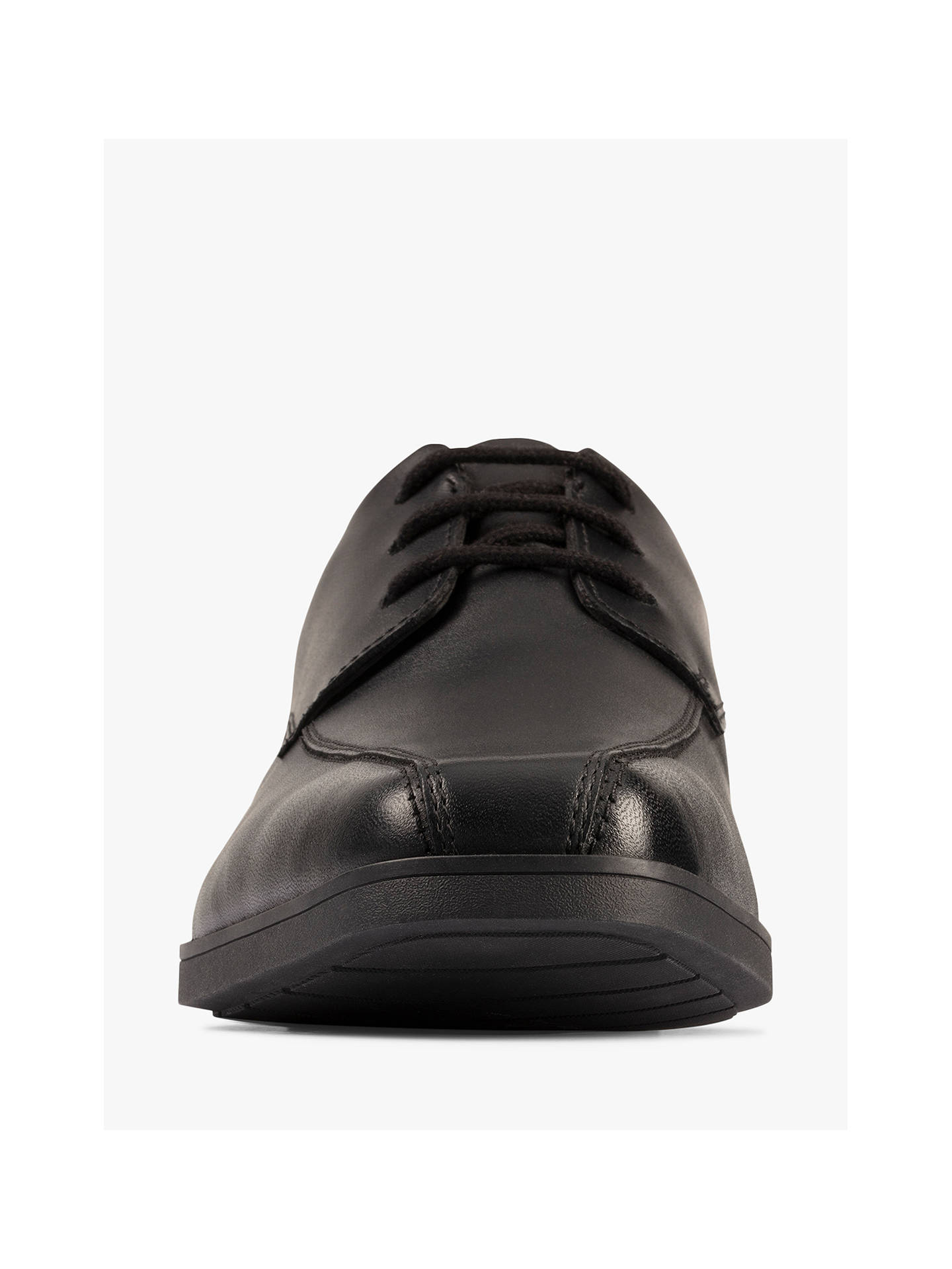 Buy Clarks Children's Scala Loop Youth Shoes, Black Leather, 3F Online at johnlewis.com