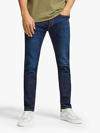 Edwin Made in Japan Slim Fit Tapered Jeans, Dark Used Blue