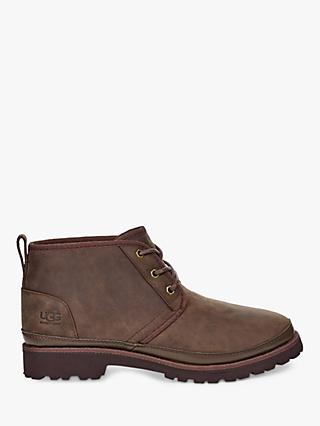 UGG Neuland Wool Lined Leather Boots, Grizzly