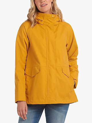 Barbour Mersey Waterproof Relaxed Fit Jacket, Yellow