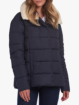 Barbour Wilderness Collection Charlotte Quilted Jacket, Navy