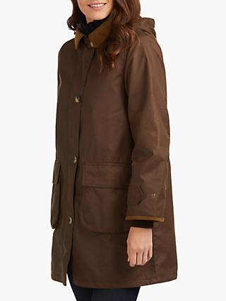 Barbour Wilderness Collection Balmory Waxed Jacket, Brown