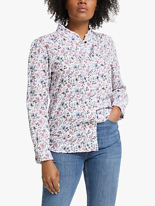Barbour Laura Ashley Yews Floral Print Shirt, Indienne Print