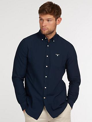 Barbour Core Long Sleeve Shirt, Navy