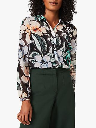 Phase Eight  Kerria Floral Blouse, Green/Multi