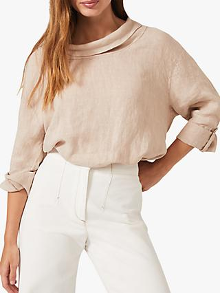 Phase Eight Selwyn Blouse, Stone