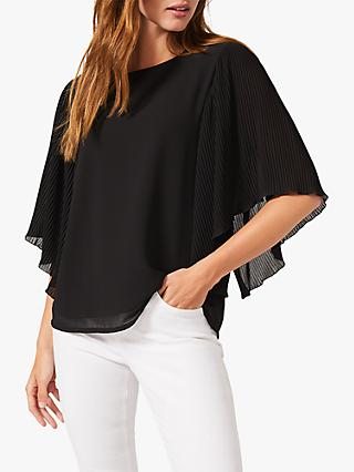 Phase Eight Paige Blouse, Black