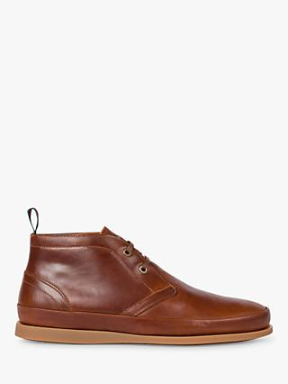 PS Paul Smith Cleon Leather Chukka Boots, Tan
