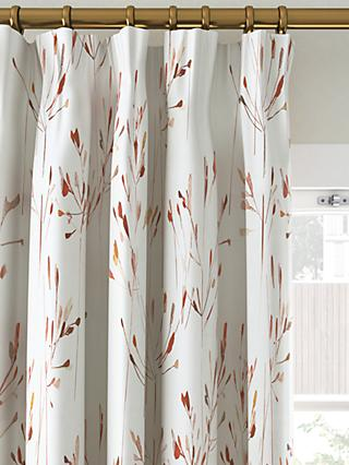 John Lewis & Partners Nerine Pair Blackout Lined Pencil Pleat Curtains