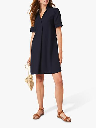 Phase Eight Sabine Mini Dress, Navy