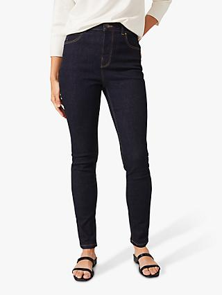 Phase Eight Abigail Mid Rise Jeans, Indigo