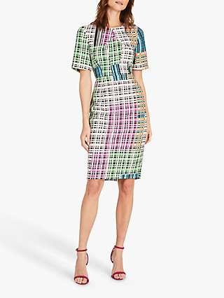 Damsel in a Dress Libbie Abstract Print Tailored Dress, Multi